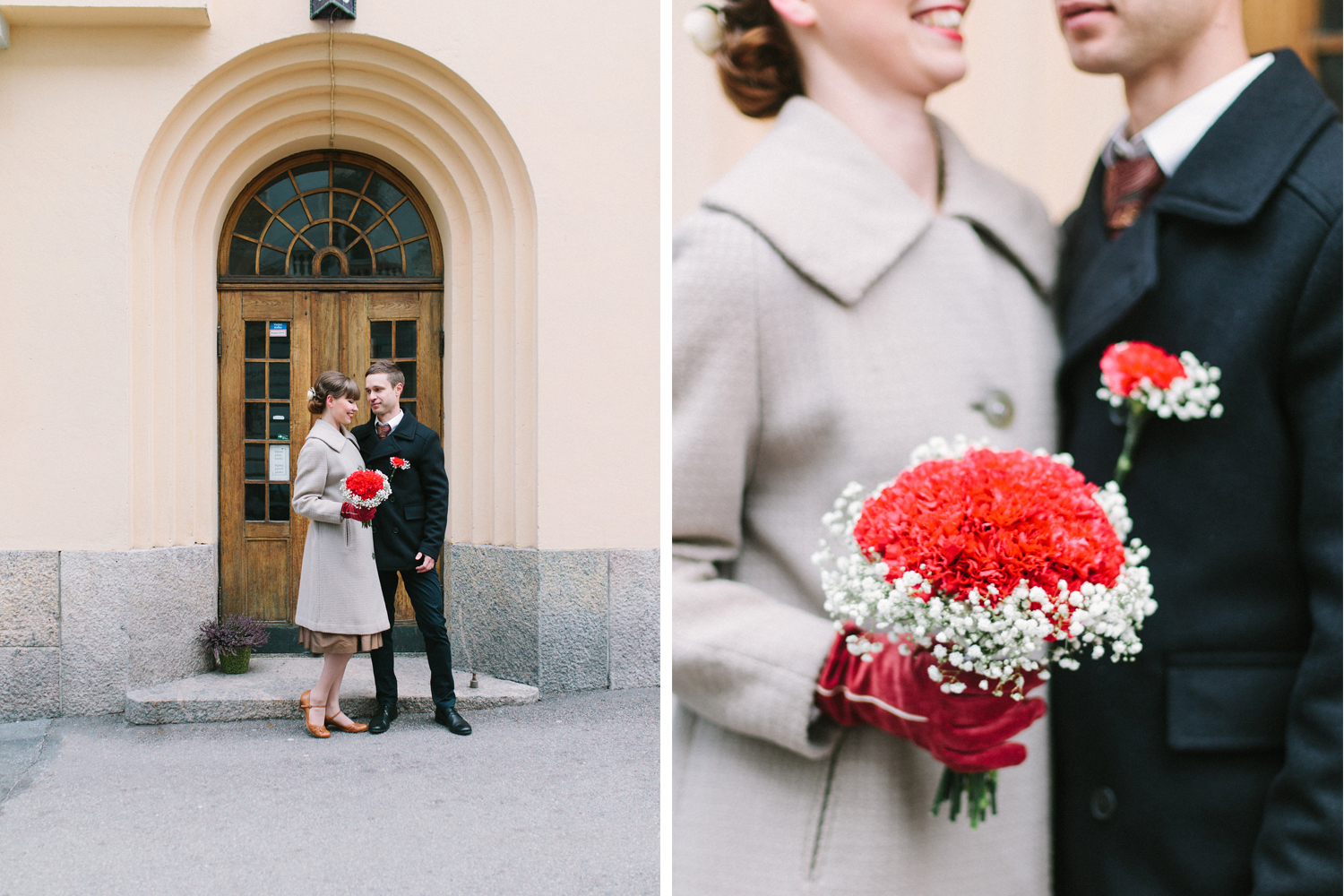 Marjo & Petrus_Helsinki winter wedding3