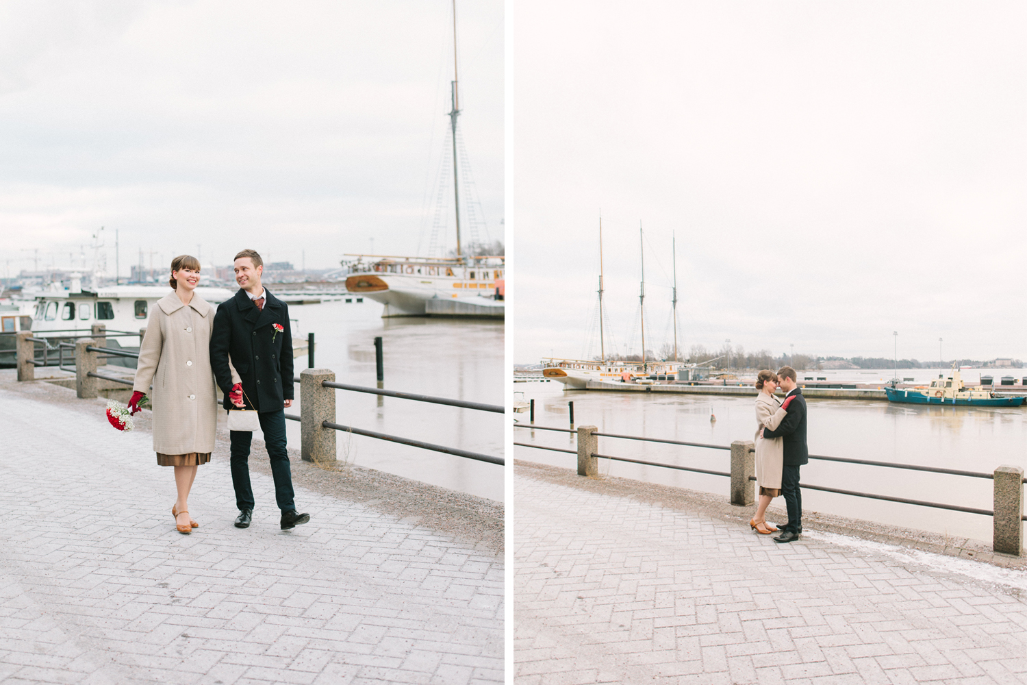 Marjo & Petrus_Helsinki winter wedding4